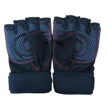 Cross Fit Treino Treino Luvas Unisex Levantamento Glove Protection WOD Weightlifting Aperto Máximo Com Pulso Extra