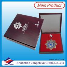 Медаль пользовательские честь упакованные в декорировании подарочной коробке случае медаль