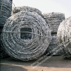 14Gauge Galvanized Safety Barbed Wire Fencing