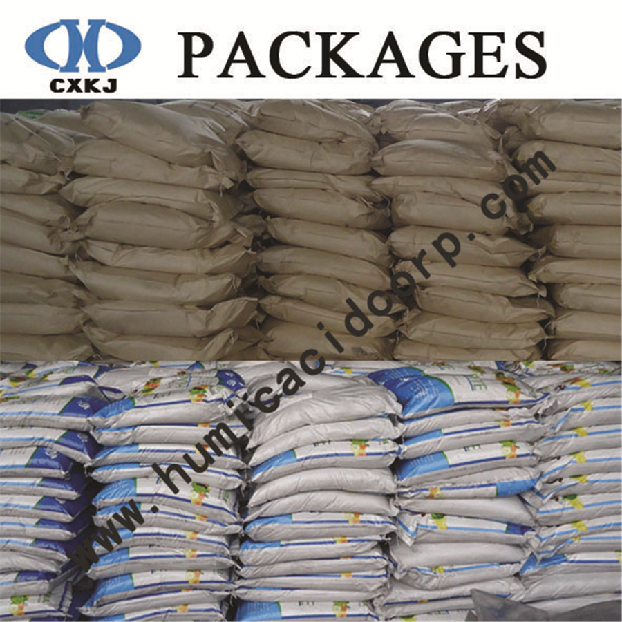 Packages of fulvic acid