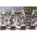 Escultura de la temporada de la piedra del jardín cuatro con el mármol de la piedra arenisca (SY-X1128)