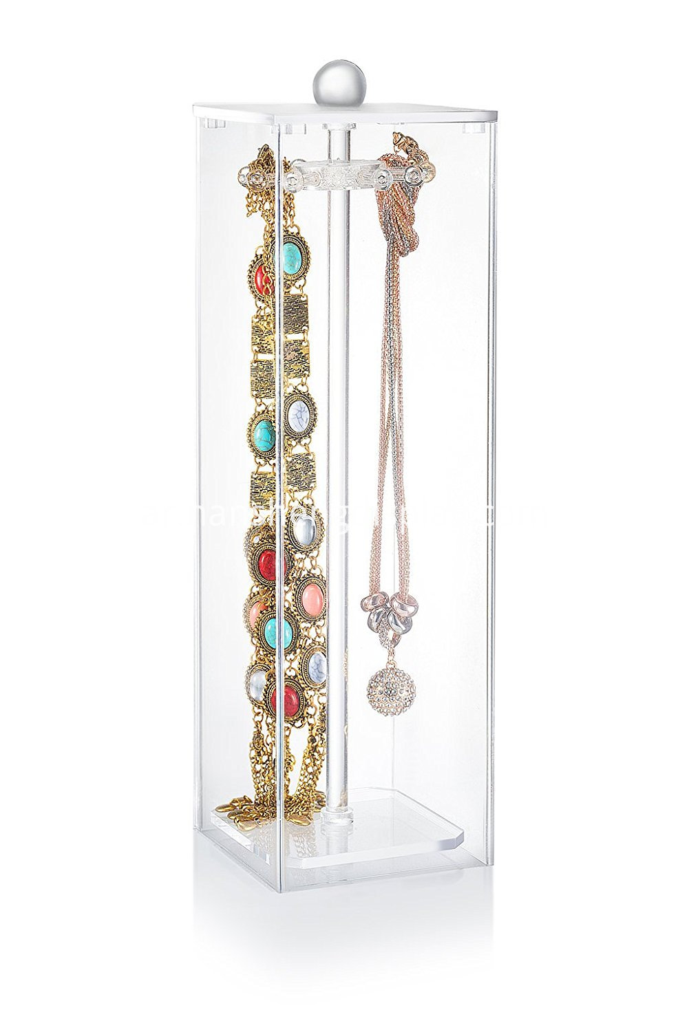 hanging jewelry organizer necklaces
