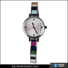 Mehrfarbige Banduhr Damen Armbanduhr für kleines Handgelenk
