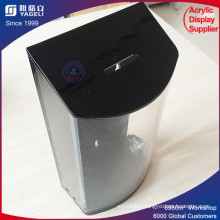 2017 Cute Design Acrylic Donation Bin with Low Price