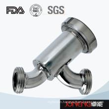 Stainless Steel Sanitary Threading Type Strainer (JN-ST7007)