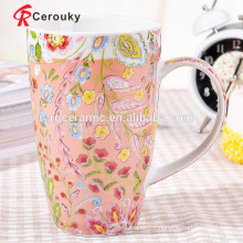 Strong ceramic construction cheap porcelain mugs