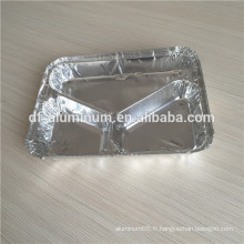 3 compartiments emballés en panne suspendue avec paquet de plumage