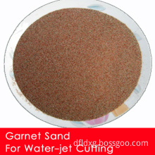 80mesh Garnet Sand for Water Jet Cutting/ Abrasive and Water Purification (KX-G147)