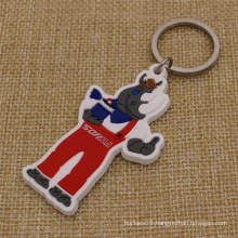 Wholesale Custom Your Branded 2D Soft PVC Keytag with Branded Logo