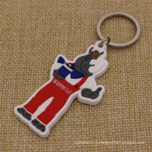 Оптовая Custom Ваш фирменный 2D мягкий ПВТ Keytag с фирменной логотип