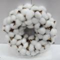 D30cm Artesanía al por mayor de la decoración de la Navidad de la guirnalda del algodón al por mayor