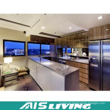 Armários UV de alta lustro da cozinha para o apartamento (AIS-K375)
