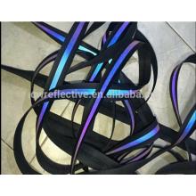 EN471 haute visibilité dongguan 3 m bande réfléchissante en tissu pour vêtements