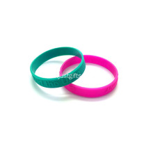 Promotional Embossed Silicone Wristbands-202*12*2mm