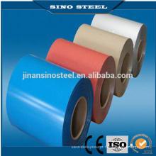 Bobina de aço galvanizada revestida cor de 0.40 * 1250mm PPGI