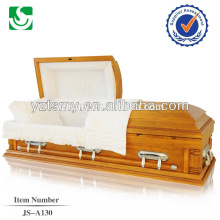 Ataúdes de madera estilo americano hechos en china en venta