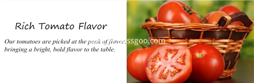 Rich Tomato Flavor