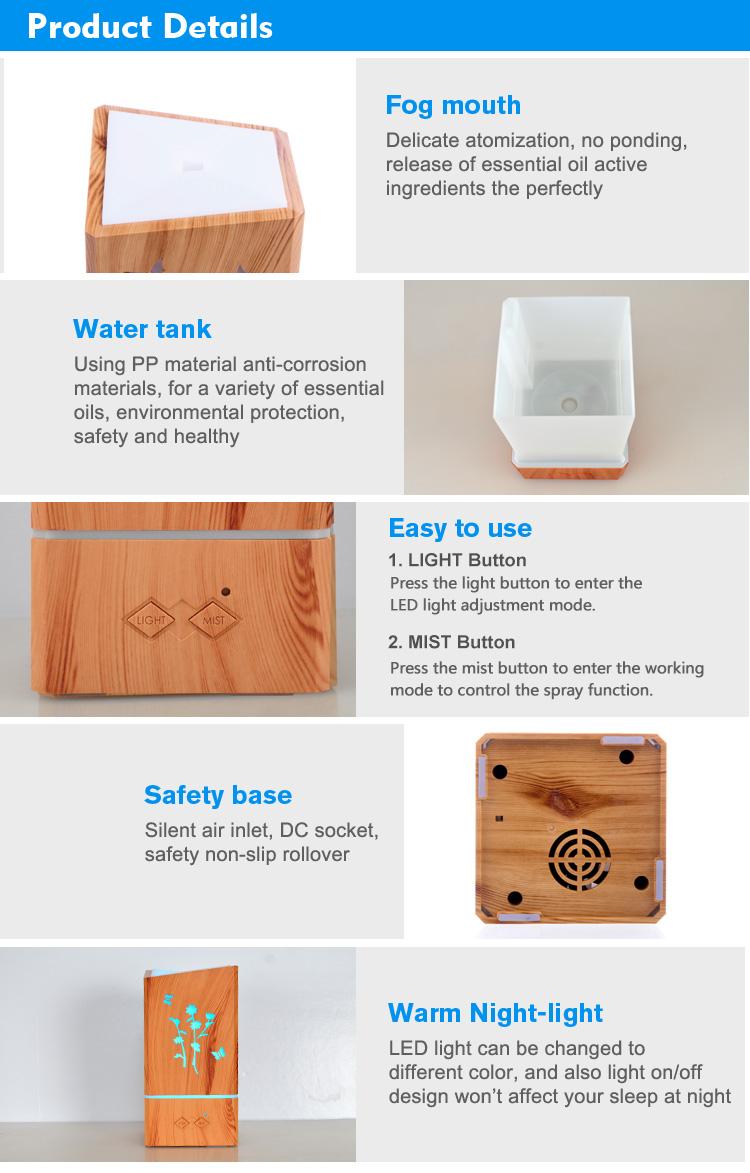 air humidifier aroma oil diffuser