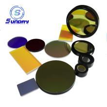 Filtros ópticos de passagem de banda estreita de vidro UV