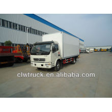 Dongfeng 6-7 tons insulated van truck for food transport