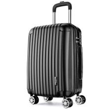 Bagage ABS personnalisable 20/22/24/26/28 Pouce sac de voyage valise à vente dure