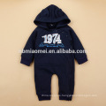 2016 long sleeve autumn winter warm baby romper one piece cotton hooded baby jumpsuit on sale
