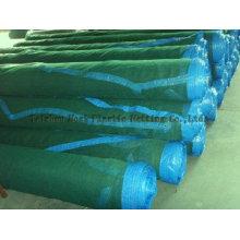 Shade Net with Blue Hem Rings