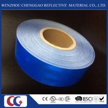 Blaues klebendes Sicherheits-wasserdichtes Mikroprisma-reflektierender Aufkleber / Band für Fahrzeug