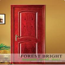 Buena calidad puerta interior moderna puerta de madera