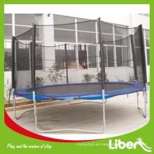 Trampolin Outdoor Fitness Übungsausrüstung Gymnastisches Trampolin mit Sicherheitsnetz und Leiter LE.BC.007