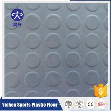 Plancher de vinyle commercial homogène