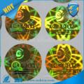 Autocollant d'hologramme de sécurité authentique personnalisé, joint d'étanchéité holographique laser à l'eau 3d