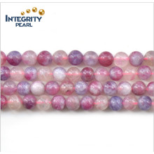 Новые натуральные камни с естественным камнем 5-5,5, 6-6,5, 7, 8 мм Естественный грубый розовый турмалин
