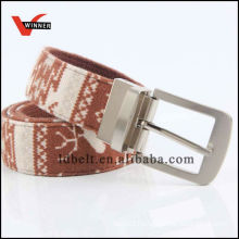 Eco-friendly camouflage canvas belt
