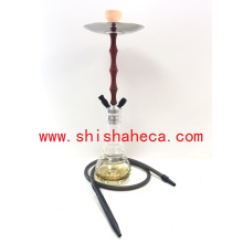 Wholesale Best Quality Aluminum Nargile Smoking Pipe Shisha Hookah