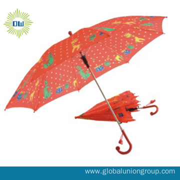 Hot Sale Carton Animal Kids Umbrella