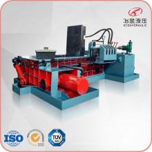 Petite machine de mise en balles d'acier de ferraille hydraulique d'usine