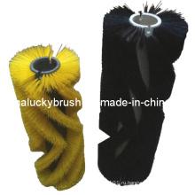 PP Материал Черная дорожная уборочная щетка (YY-022)