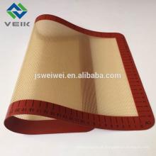 Esteira da grade do silicone do certificado resistente ao calor do FDA