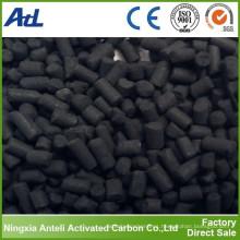 CTC50% carbón activado (pellet de 4 mm) para agua de rienda limpia