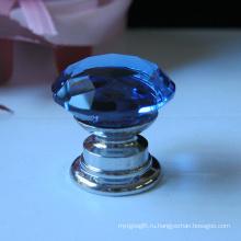 Оптовые Коробка ювелирных изделий мини синий 20mm Кристалл ручка с аппаратной базой