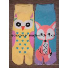 Girl Fashion Two Toe Socks
