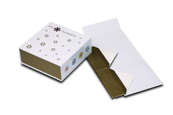 Cailang Printing Collapsible Box with Side Way Folding Gift Paper Box with Magnet