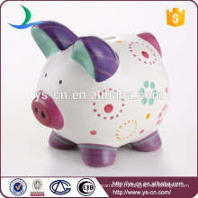 Vente en gros d'argile à cadre Handprint avec une banque de pièces de bébé de bonne qualité