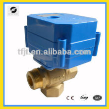 3way electric valve with large torque for solar water heaters,washing machines