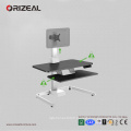 Orizeal adjustable desktop computer stand, adjustable desk riser, computer stand for desk (OZ-OSDC002)