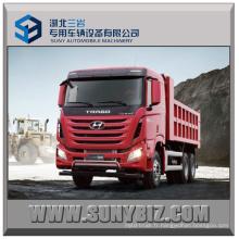 410HP Camion benne Sichuan Hyundai 6X4