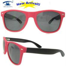 Vidrios de gafas de madera del marco óptico