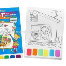 enchimento de cores para crianças com lápis de colorir