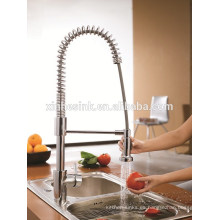 Fregadero doble de cocina de acero inoxidable para grifos